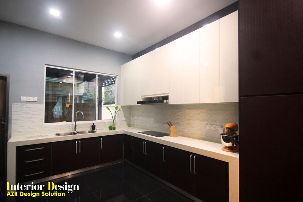 Semi Detached Kemuning Shah Alam Azr Kitchen Cabinet